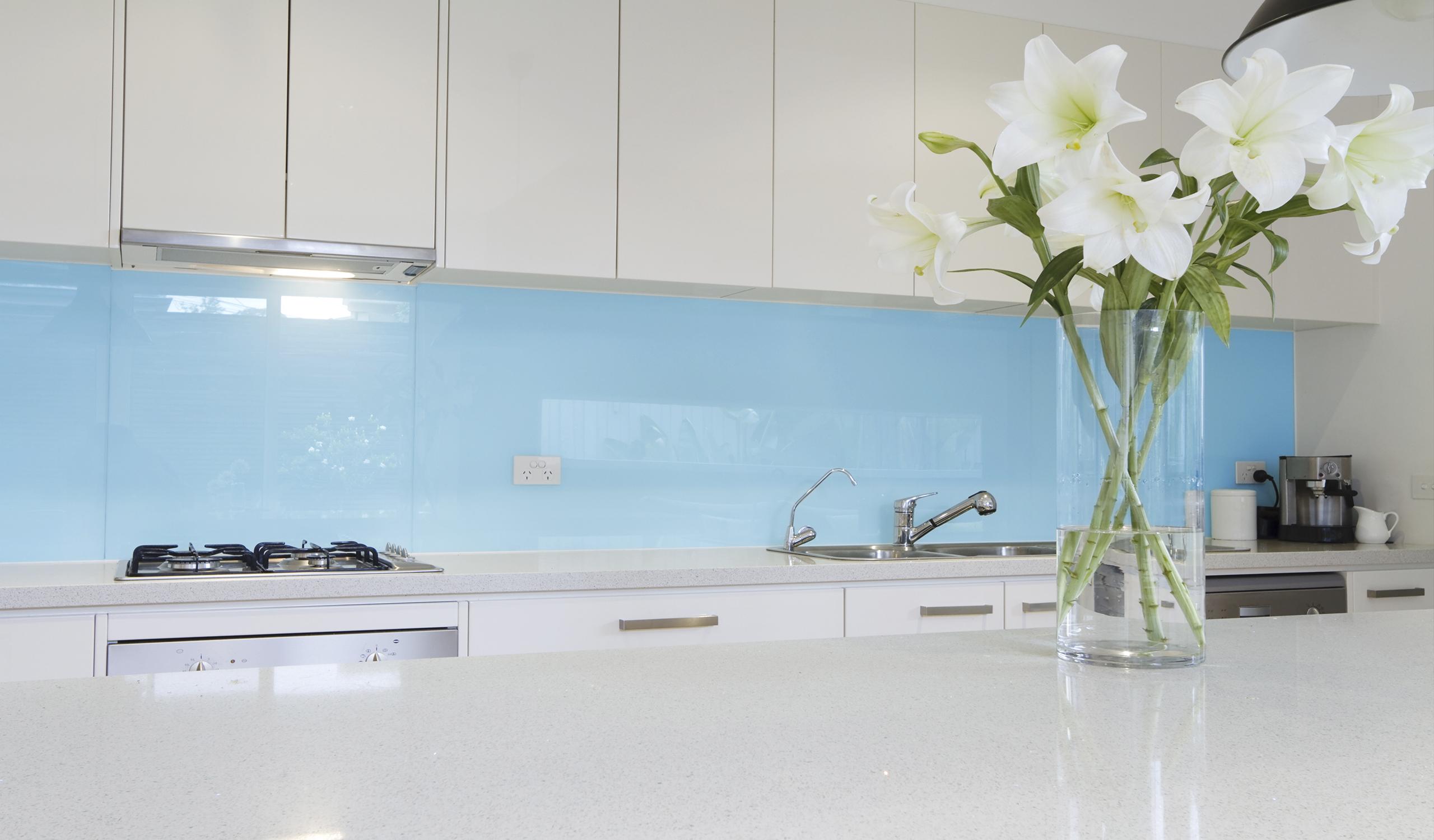 Coloured Glass Splashbacks Prices | Kitchen Splashbacks